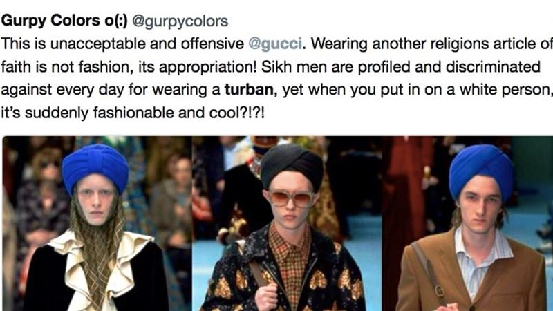 Gurpy Colors, Sikh turban, Gucci, cultural appropriation