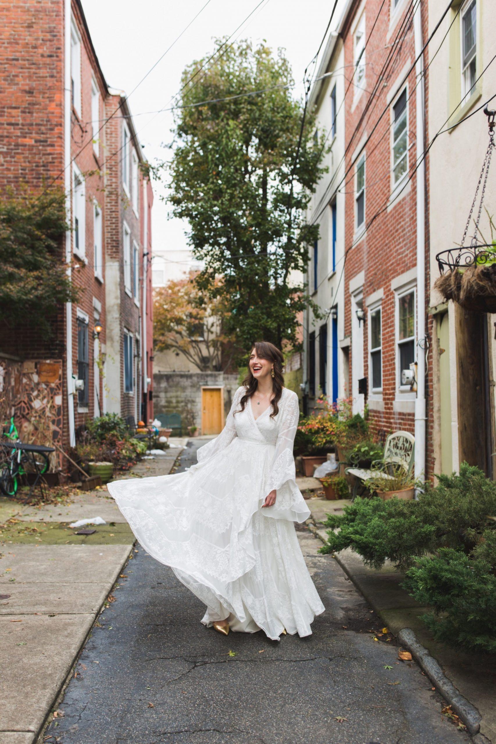 Rue de Seine, wedding dress, Philadelphia