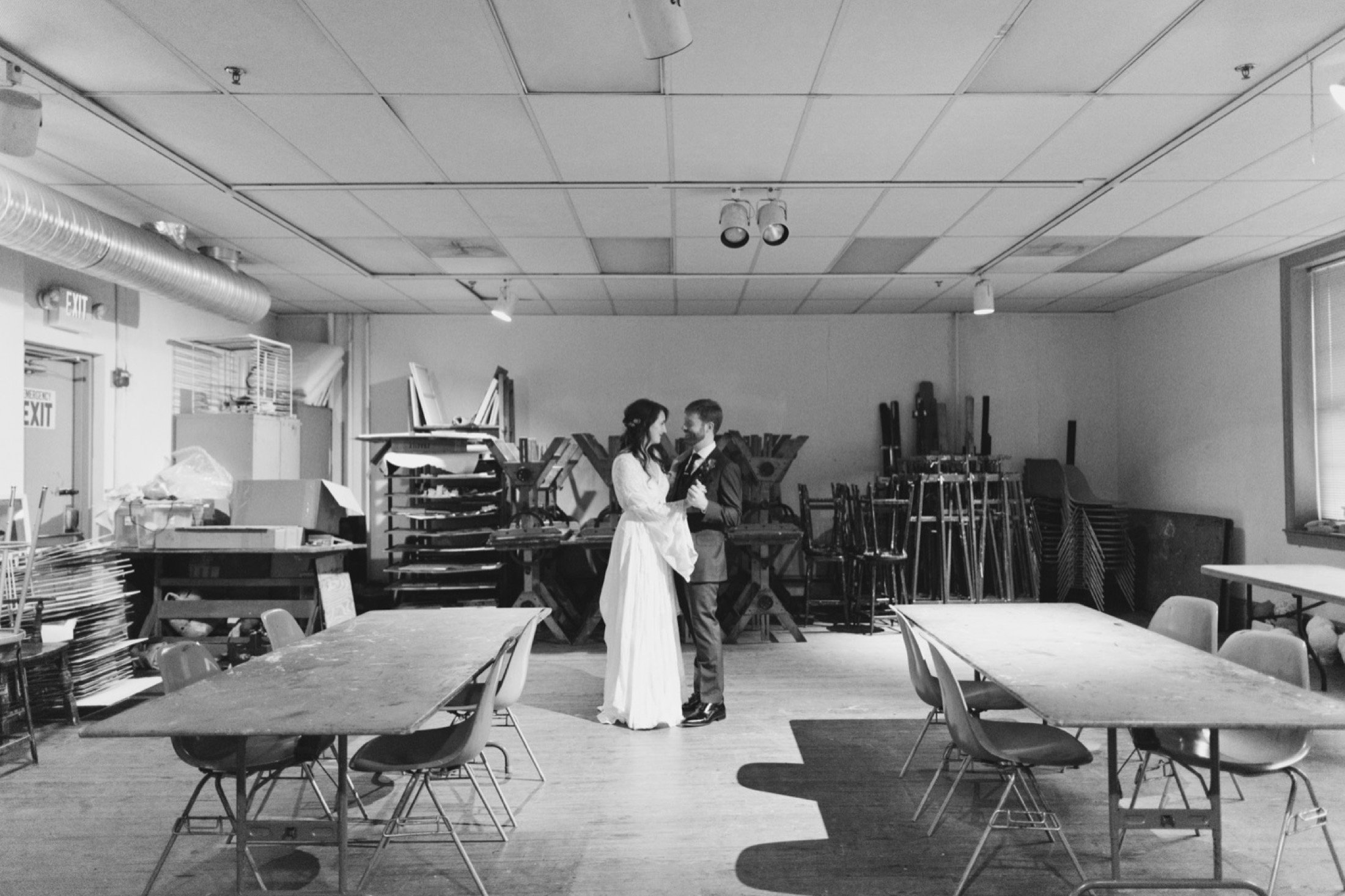 Fleisher Art Memorial, wedding, portraits, photography, art studio