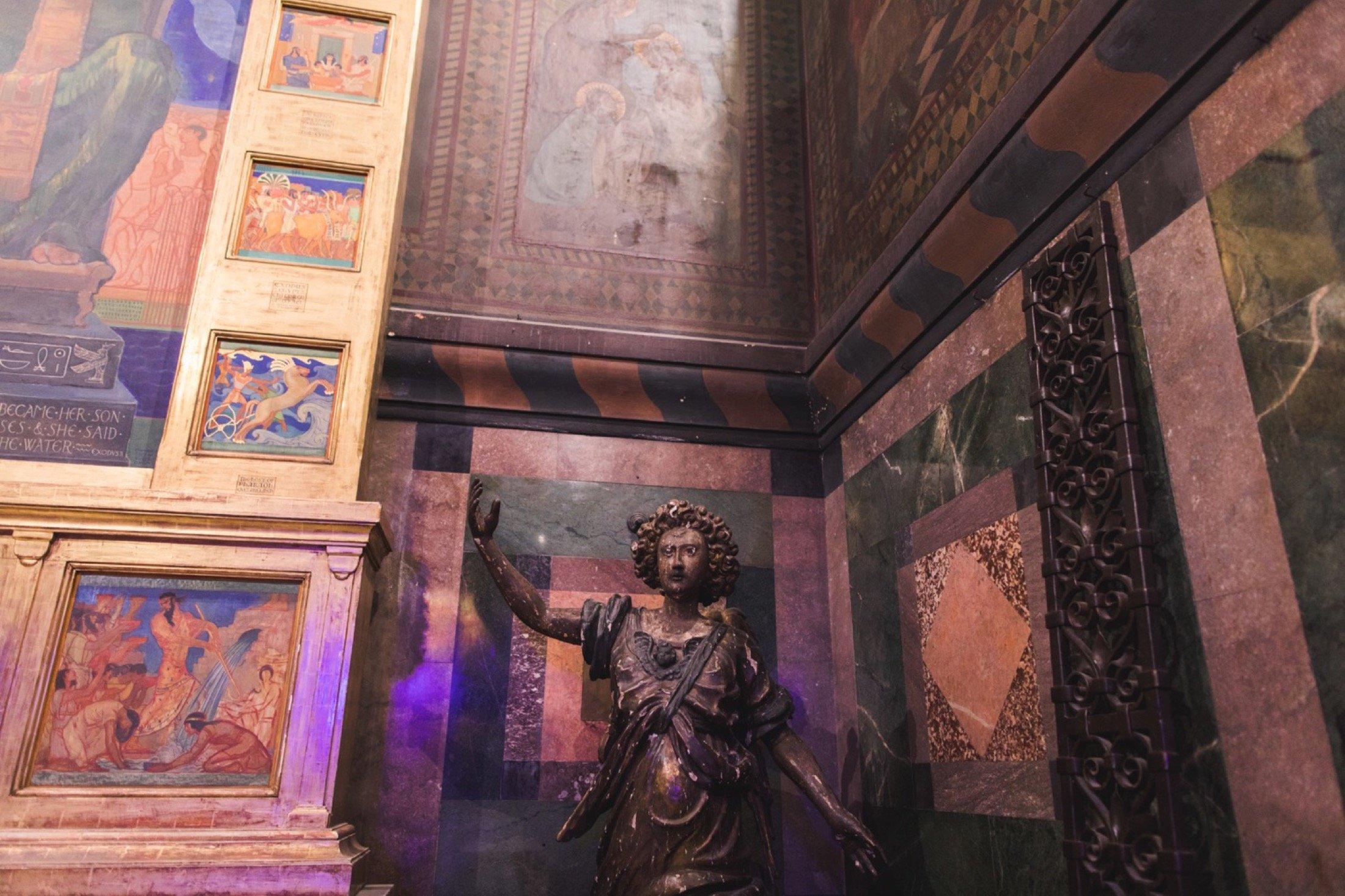 Fleisher Art Memorial, wedding, reception, sanctuary