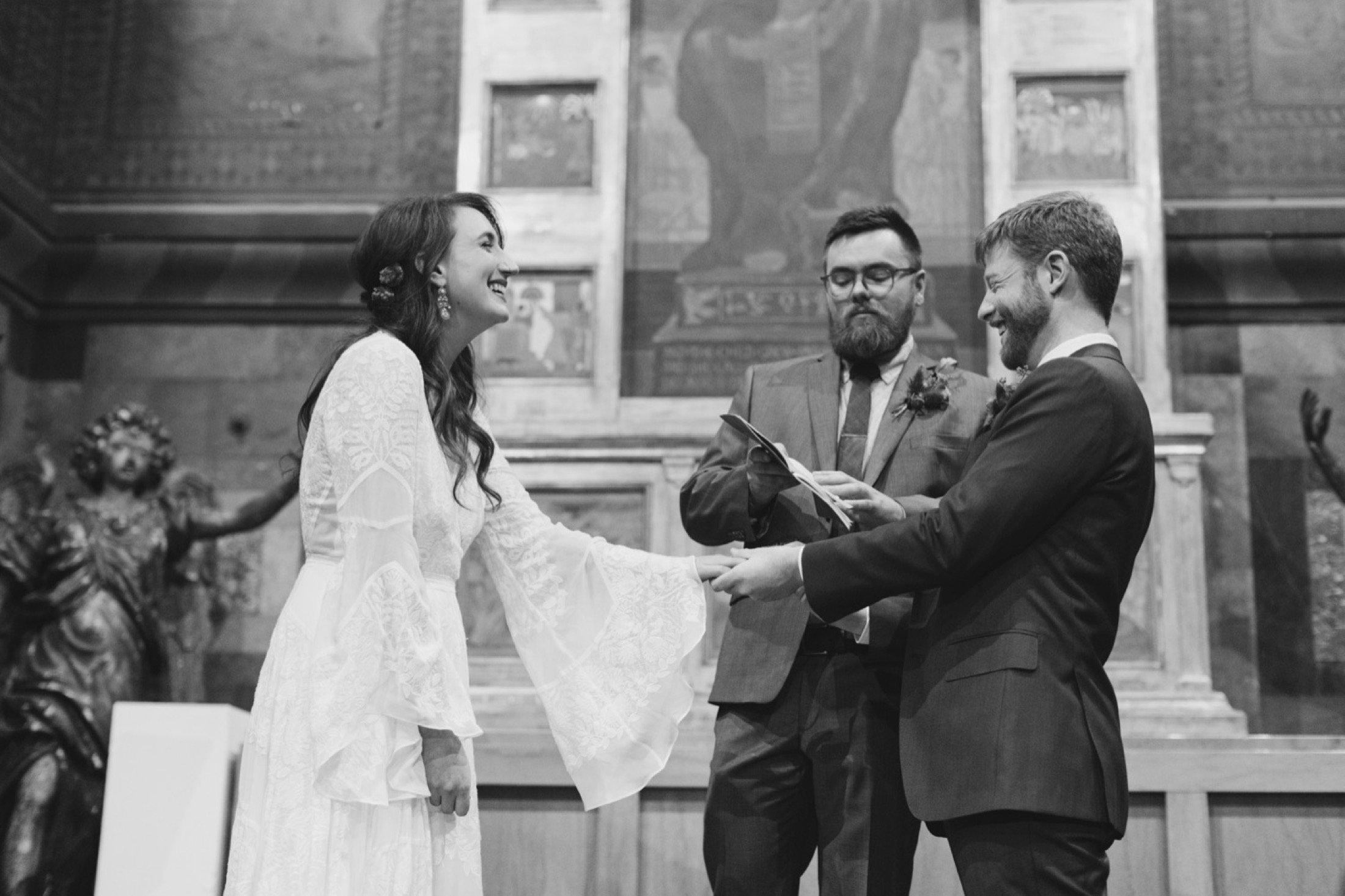 Fleisher Art Memorial, wedding, ceremony, sanctuary