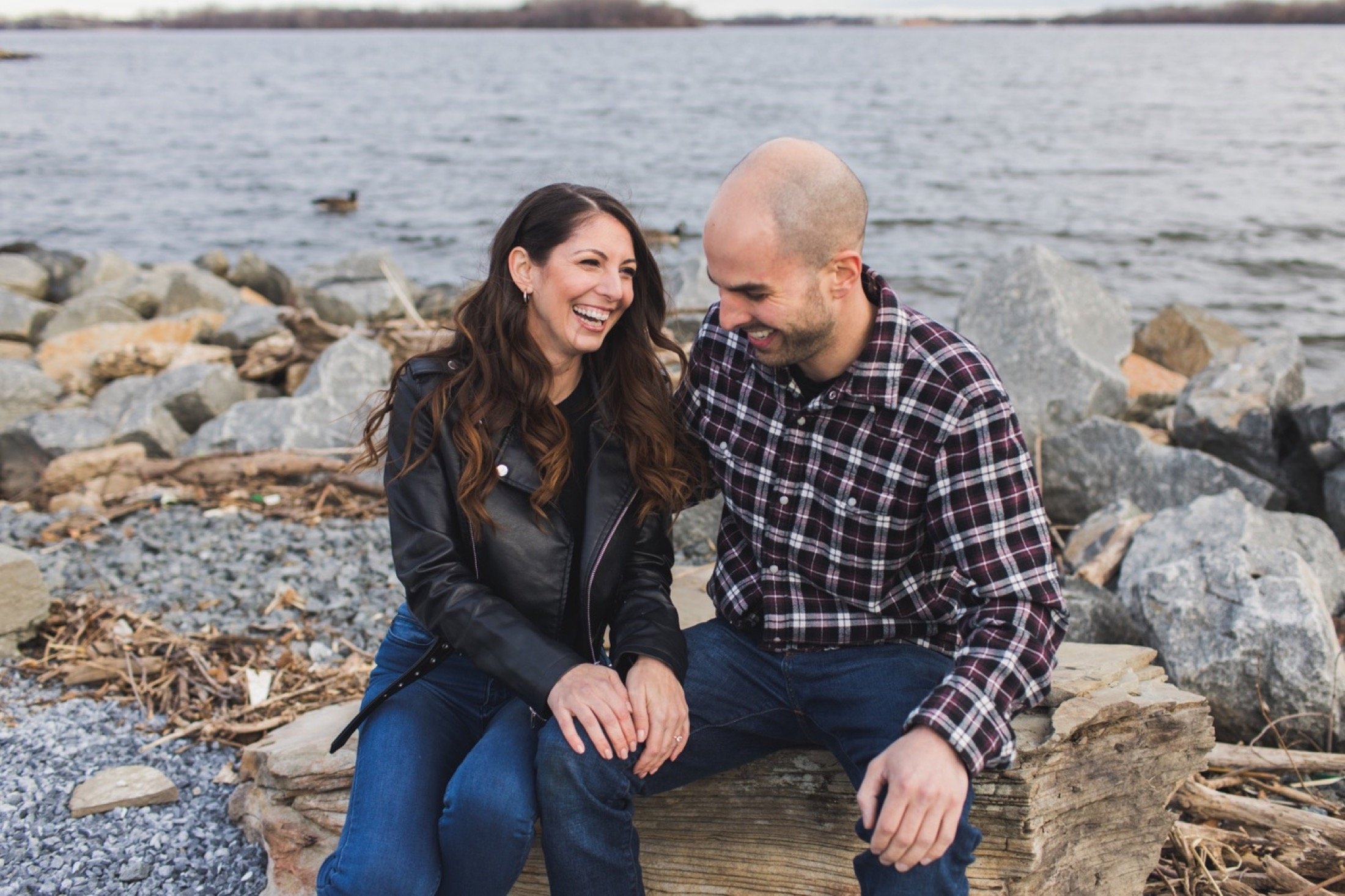 engagement photography, Penn Treaty Park, Philadelphia