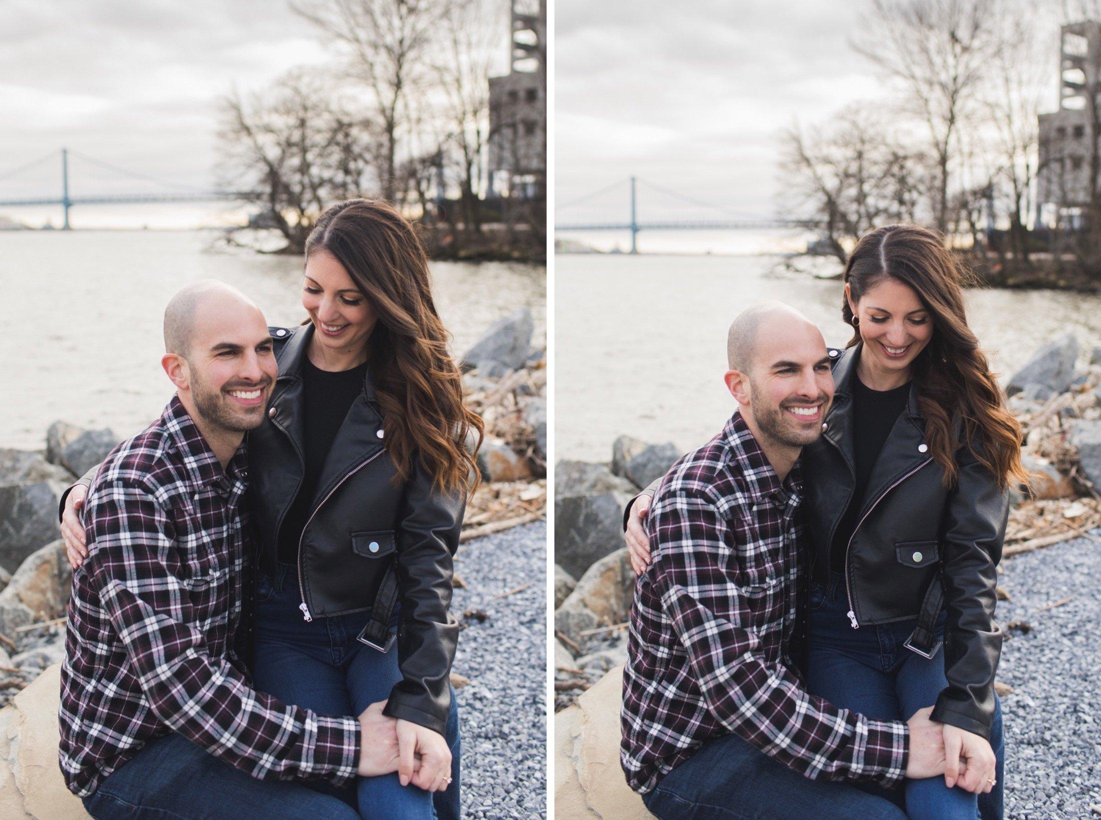 engagement photography, Penn Treaty Park, Philadelphia