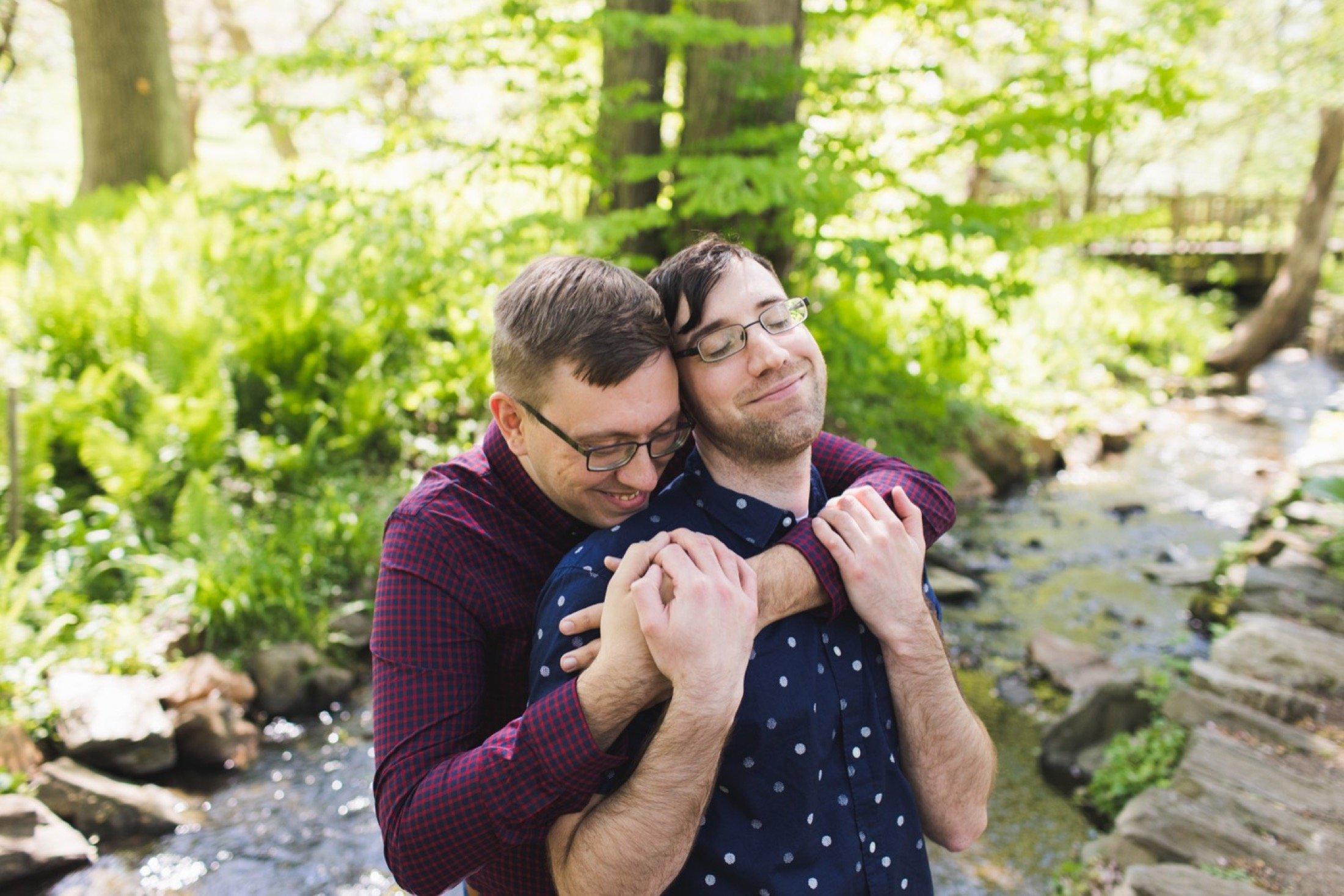 Morris Arboretum, Philadelphia, engagement, LGBTQ+