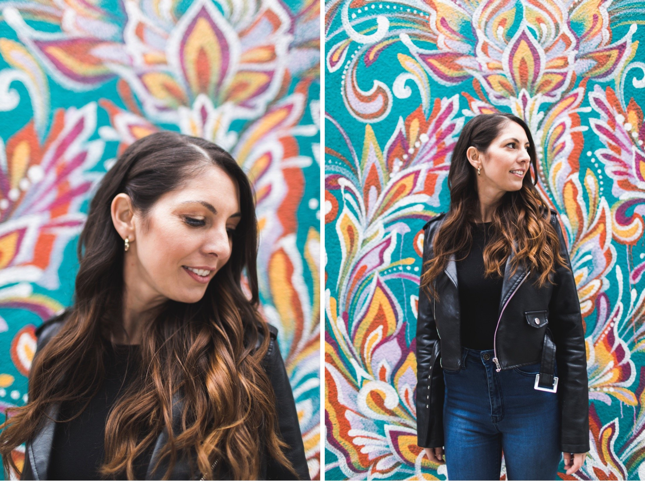 Frankford, Kensington, Philadelphia, engagement, Honeygrow murals