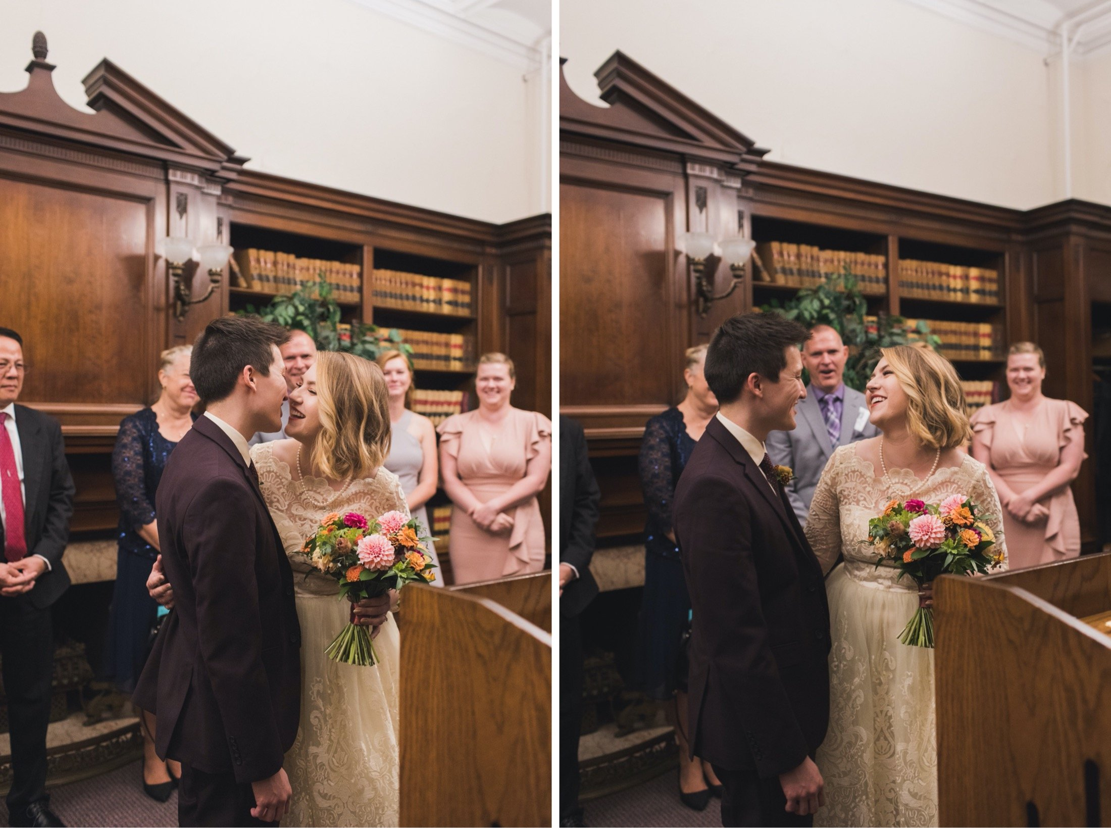 City Hall, elopement, Philadelphia, microwedding