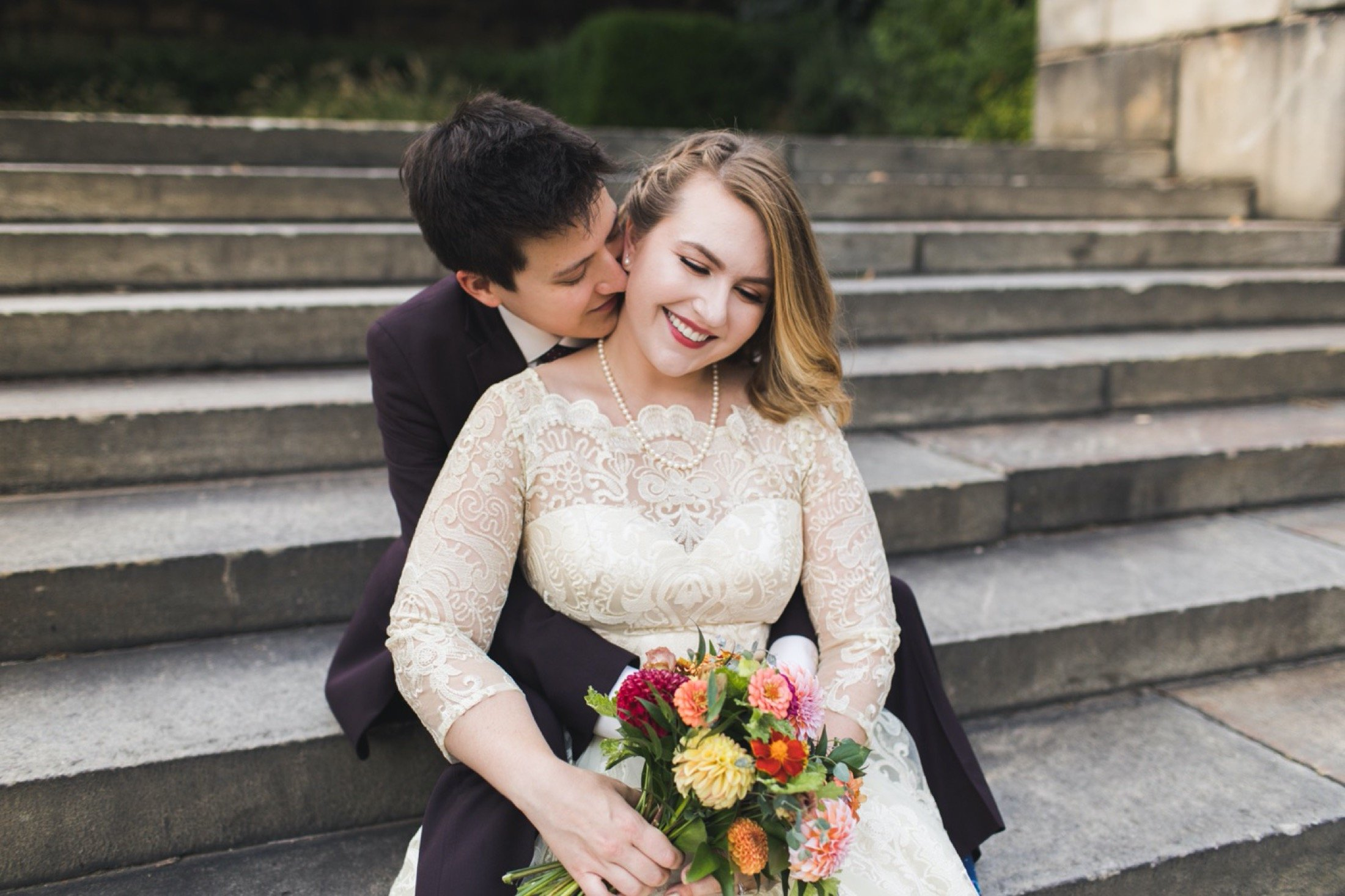 Philadelphia Museum of Art, elopement, Philadelphia, microwedding