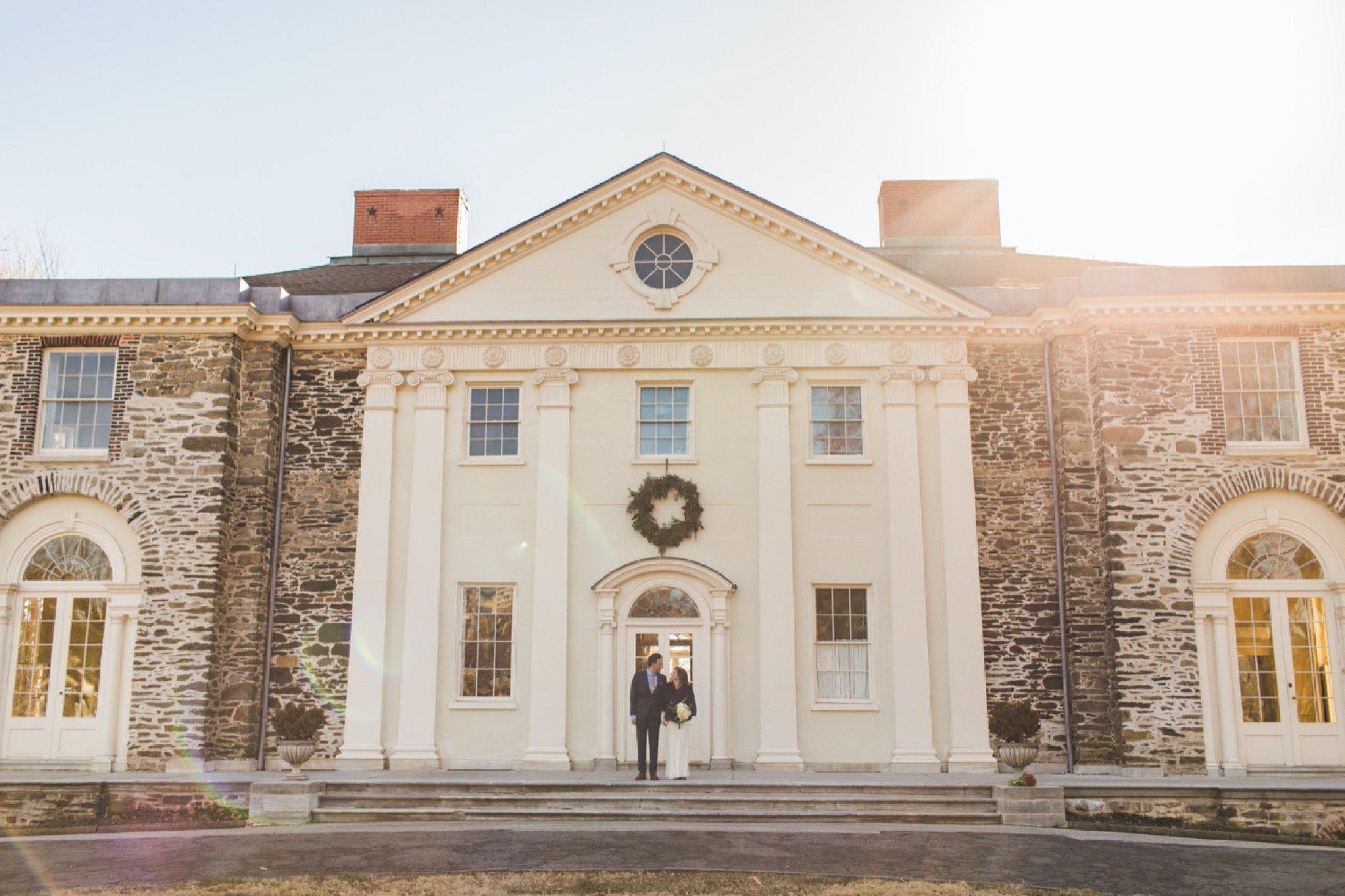 The Woodlands, Philadelphia, wedding