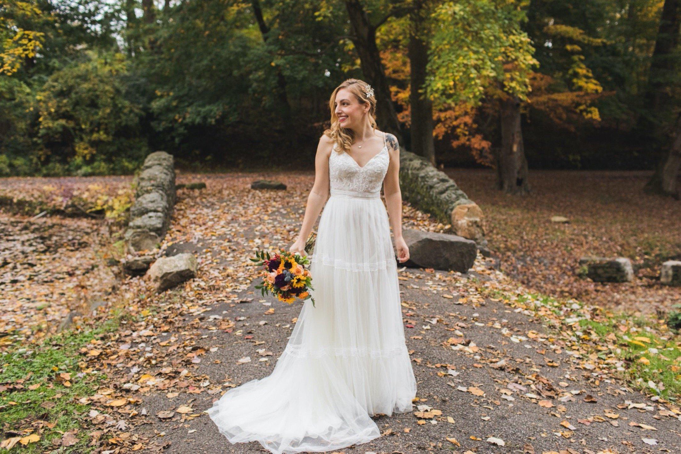 bride, portraits, microwedding, Philadelphia