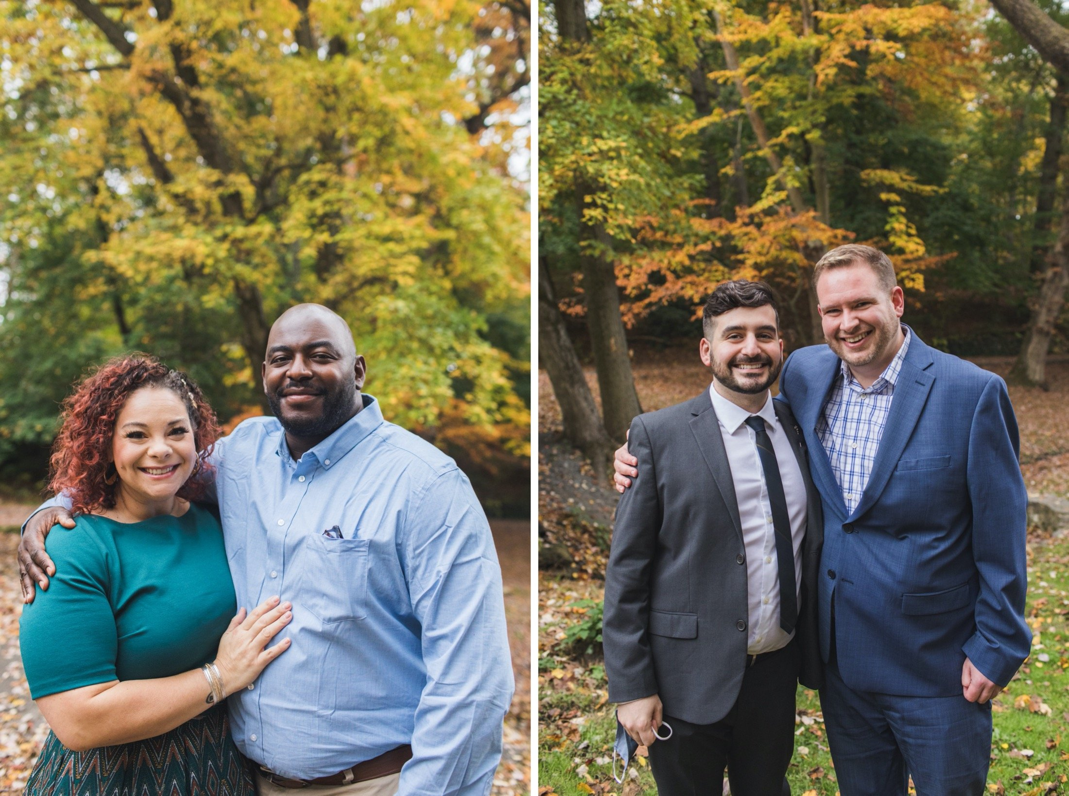 wedding, dog, microwedding, Philadelphia, Curtis Arboretum