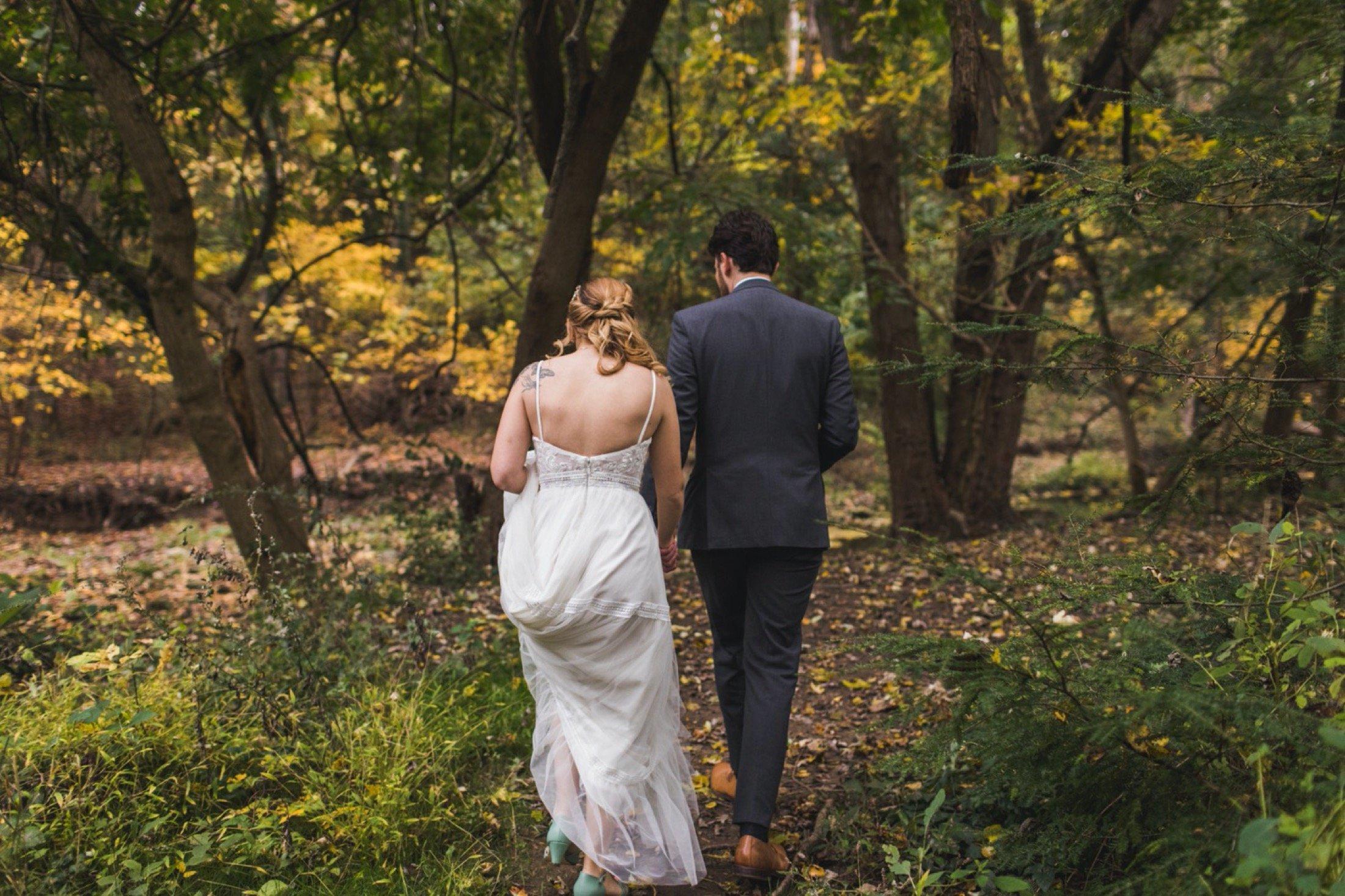 wedding, microwedding, Philadelphia, Curtis Arboretum