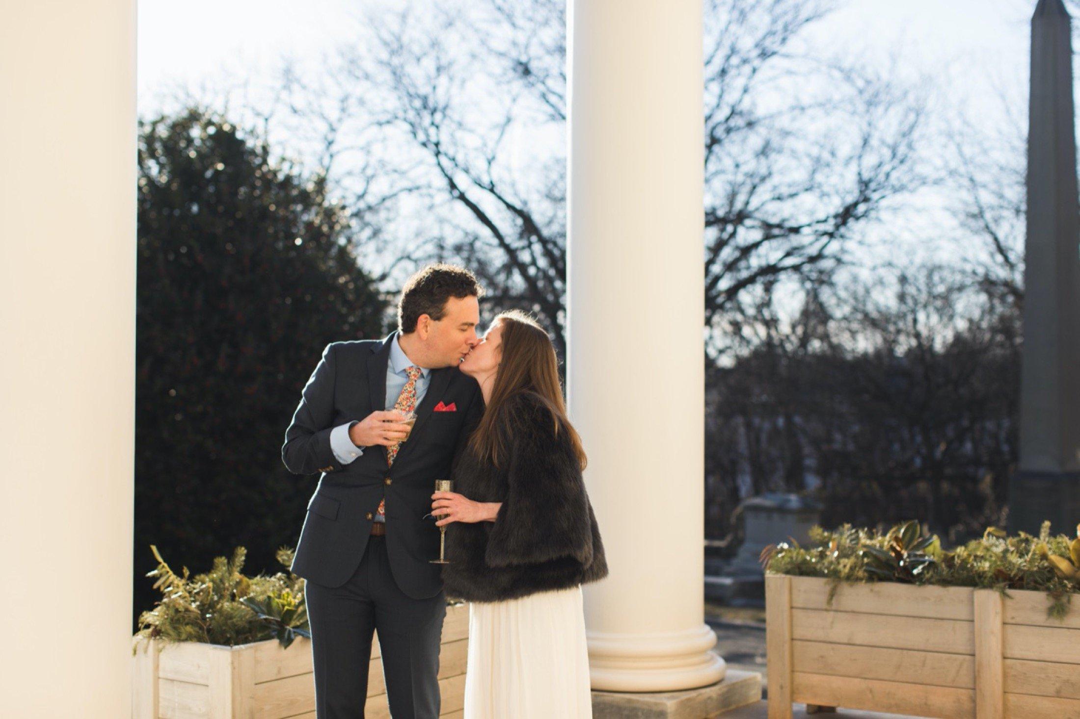 The Woodlands, wedding, Philadelphia, portico