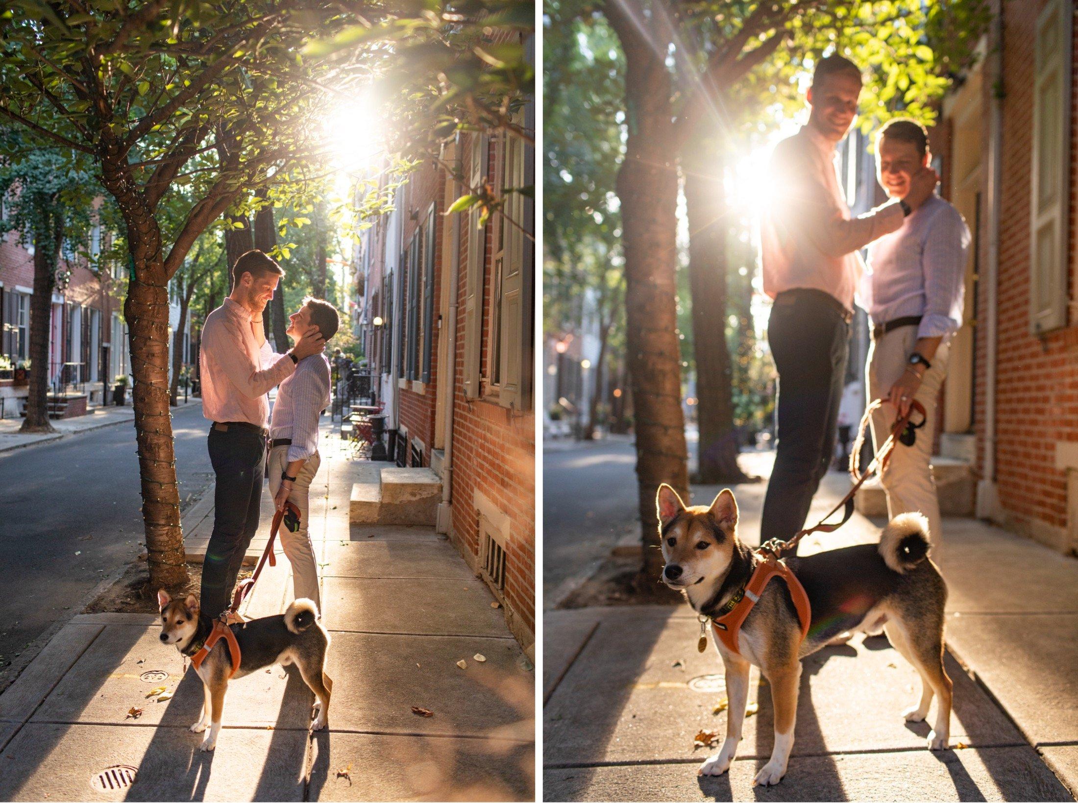 Addison Street, engagement, Philadelphia, LGBTQIA+