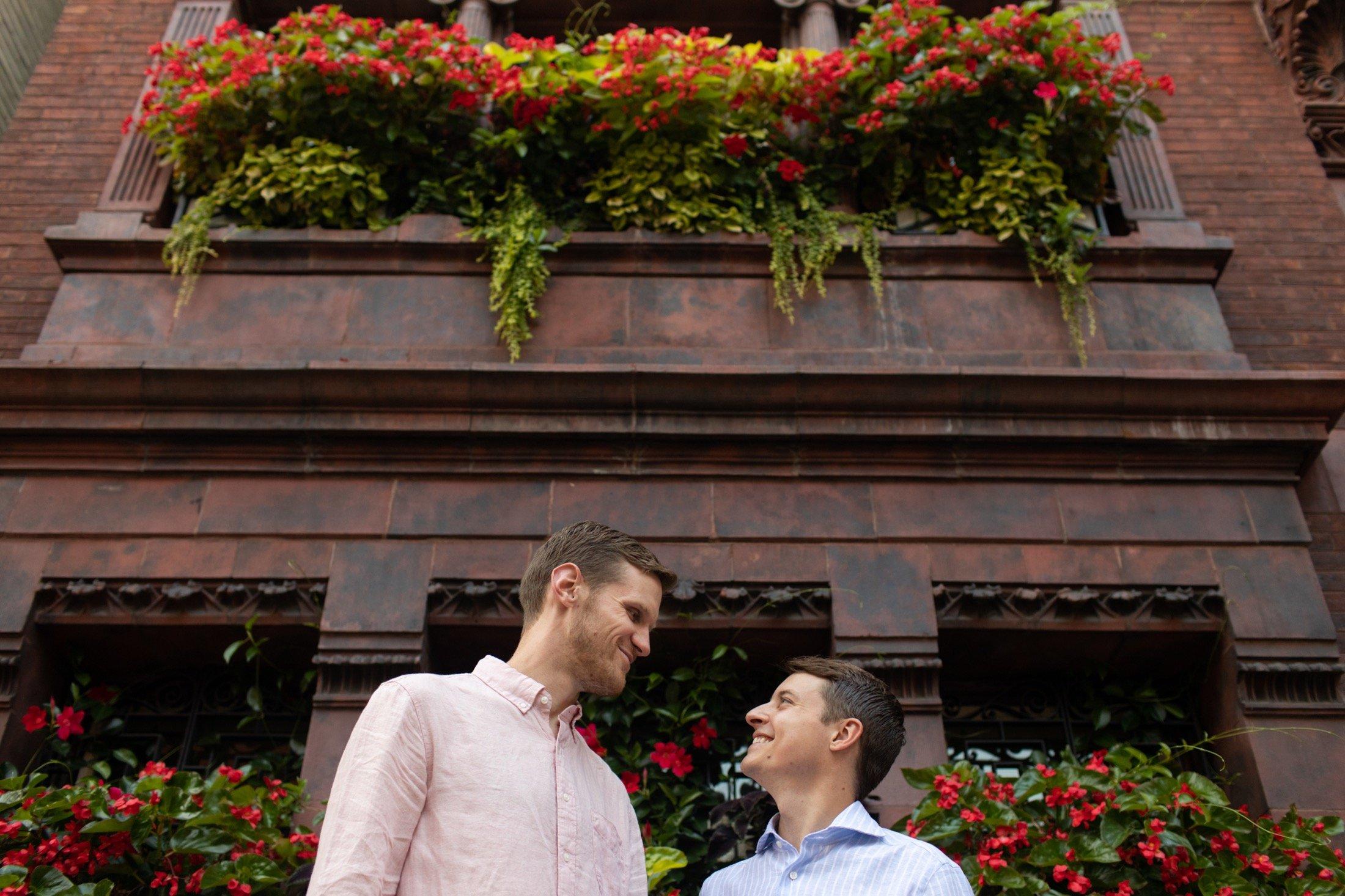Delancey Street, Philadelphia, engagement, LGBTQIA+