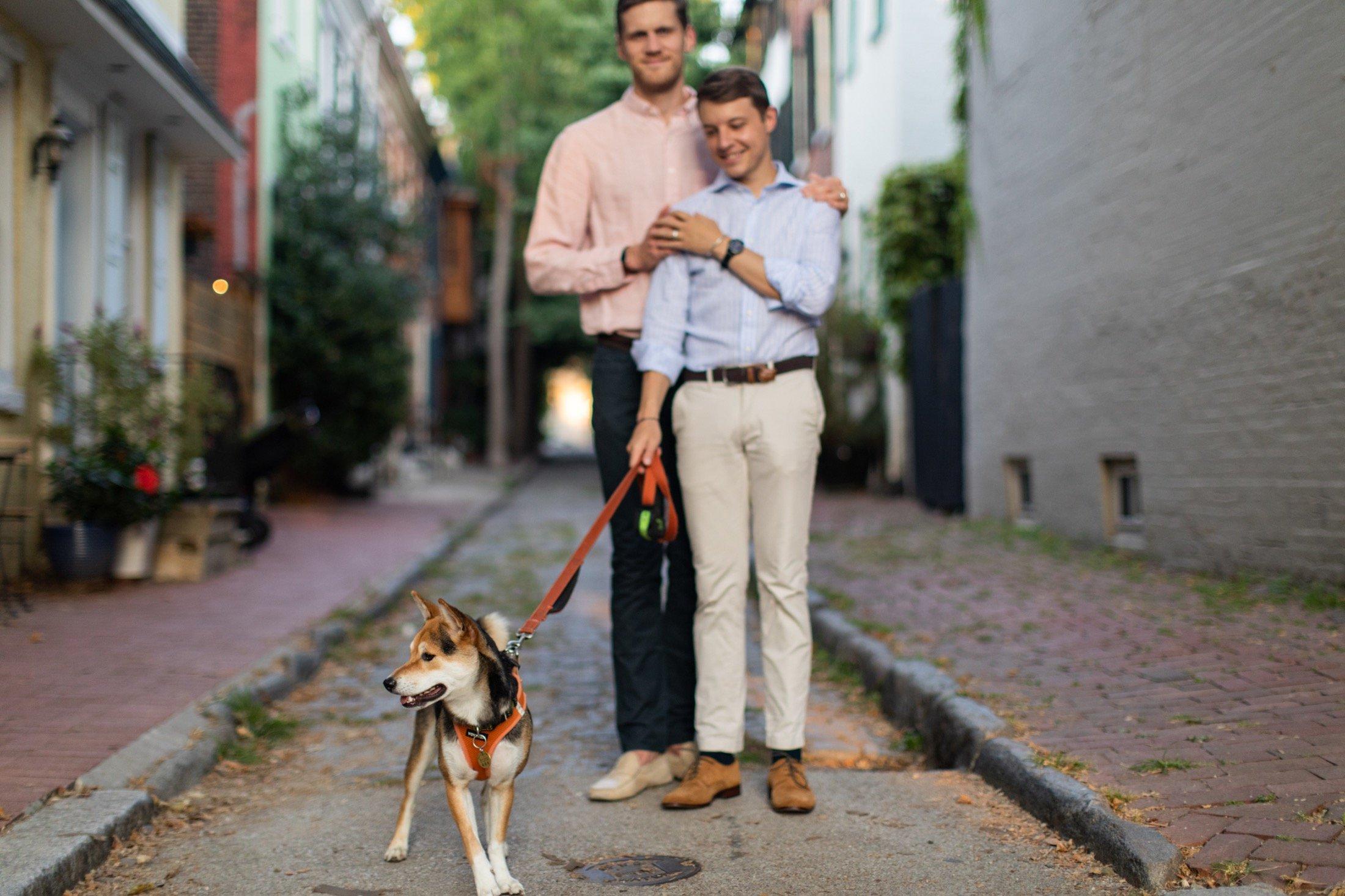 Philadelphia, engagement, LGBTQIA, gay